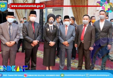 Gubernur Sumsel Lantik Nora Elisya Menjadi PJS. Bupati OKU Selatan