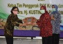 103 Kader TP PKK Mendapat Penghargaan