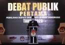 KPU Ponorogo Harap Debat Publik Jadi Pertimbangan Pemilih
