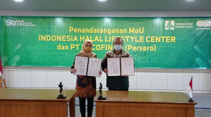 Sucofindo dan Indonesia Halal Lifestyle Center Sinergi Untuk Membangun Ekosistem Industri Halal
