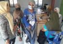 Warga Lansia di Desa Sunggal Kanan Cek Kesehatan Program Pemerintah