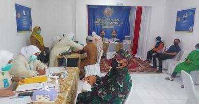 Pegawai RSUD Kayuagung Melaksanakan Vaksinasi Covid-19 Tahap II