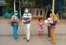 Momentum Hari Jadi Ke-2 Tahun, Tim Redaksi Media Persepsi Bagikan Ratusan Masker Ke Warga