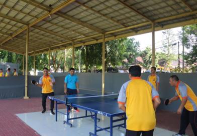 Jaga Imun Tubuh di Masa Pandemi, Wakapolda Banten dan PJU Olahraga Bersama
