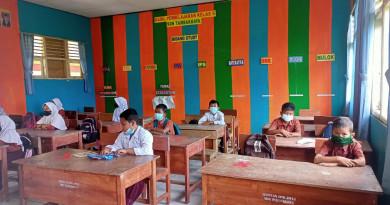 893 SD dan SMP di Kabupaten Serang Sudah Laksanakan PTM Terbatas